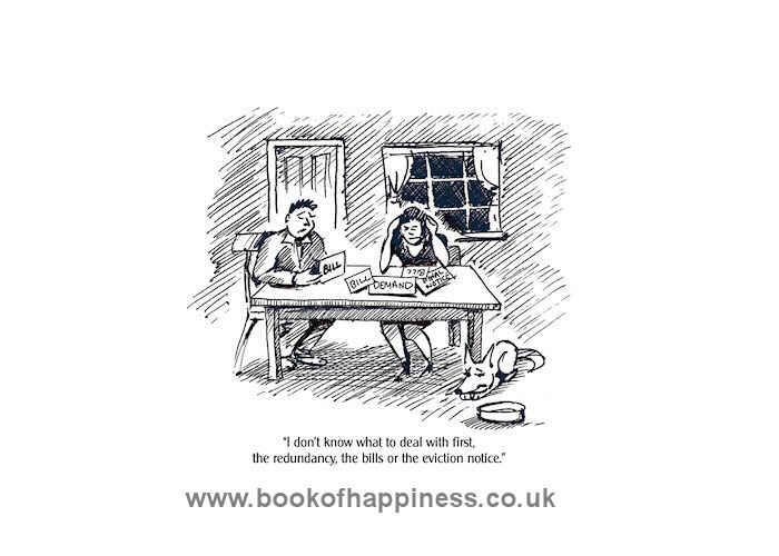Book Of Happiness - Eviction Notice