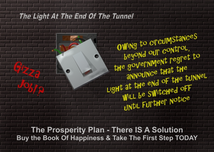 Book Of Happiness - Light At The End Of The tunnel